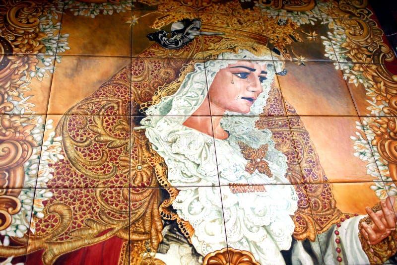 Verniciatura delle mattonelle illustrazione di stock - Pittura per mattonelle ...