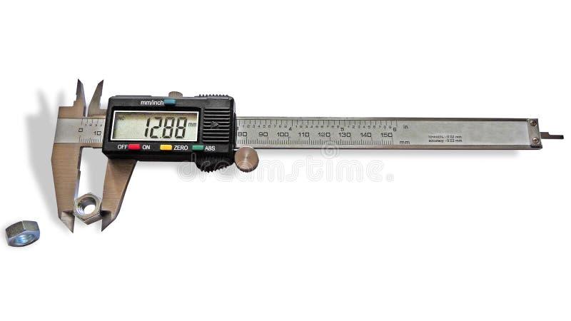 Download Vernier caliper stock photo. Image of accuracy, gardening - 6058128