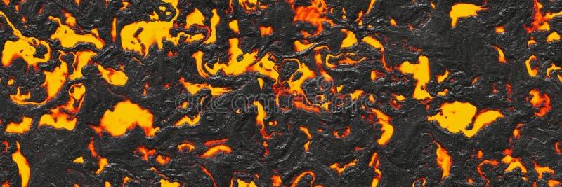 Vernietig gesmolten aardpatroon Abstracte geweven lava royalty-vrije stock fotografie