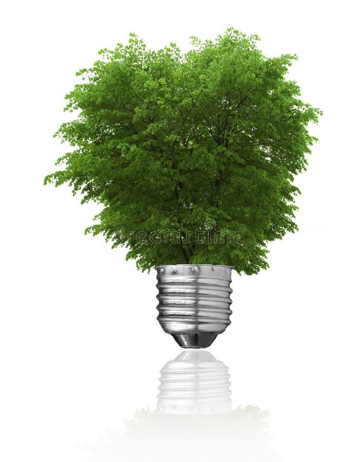 Vernieuwbare energieconcept royalty-vrije stock afbeelding
