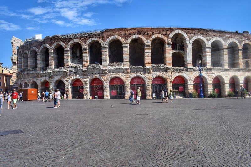 Verona Arena fotografie stock