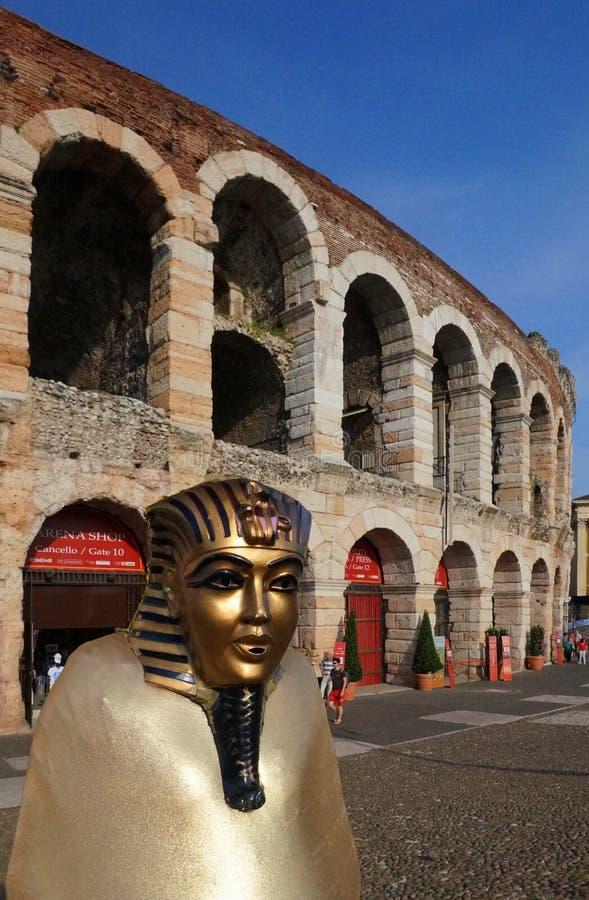 Verona Arena fotografering för bildbyråer