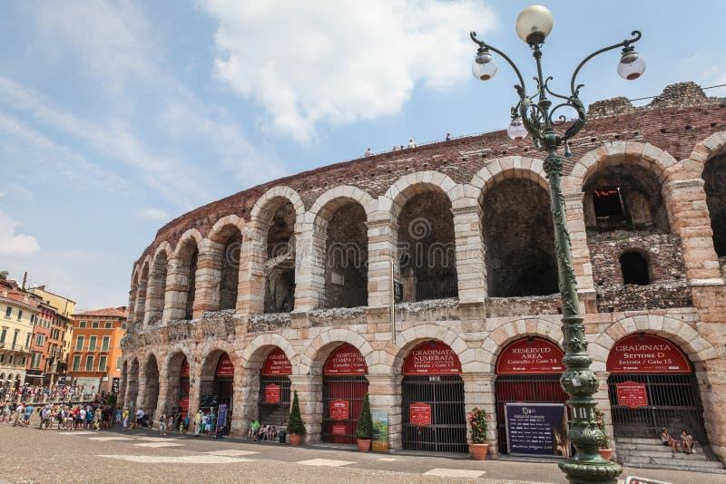Verona Arena stock afbeelding