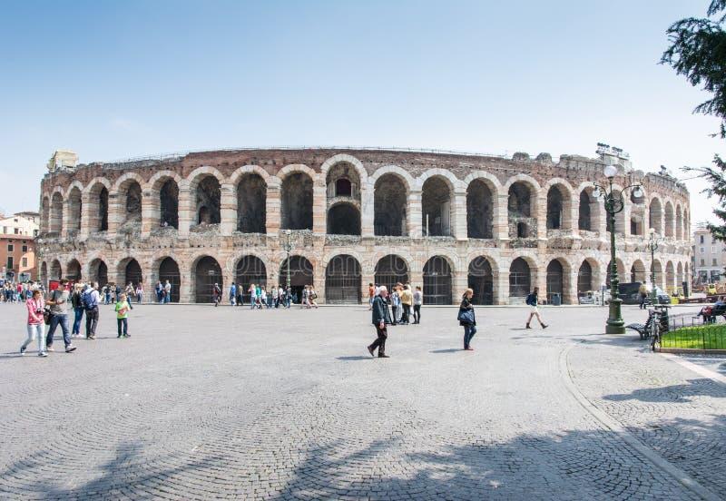 Verona Arena stock foto
