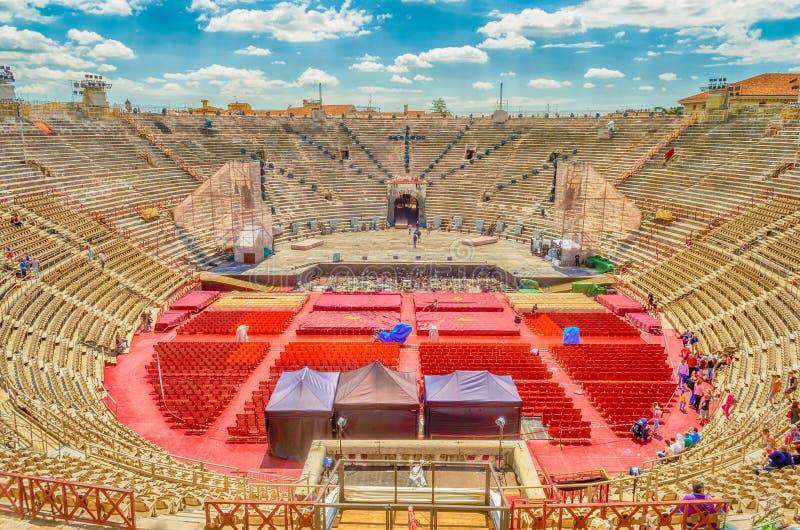 Verona Arena fotos de stock royalty free