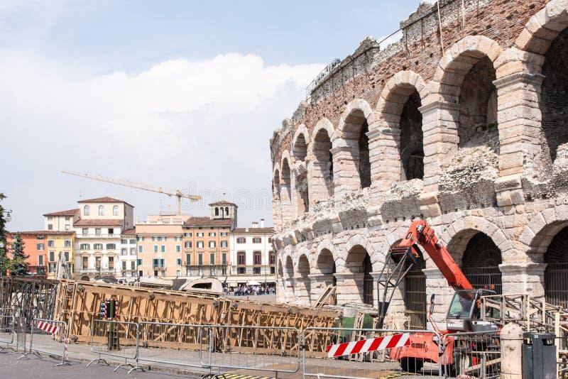 Verona Arena stock fotografie