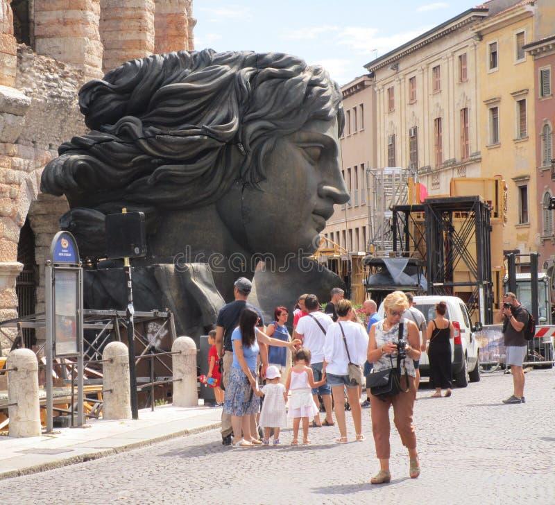 Verona Arena royalty-vrije stock foto's