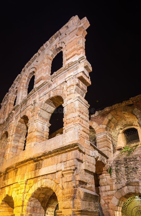 Verona Arena, ein römischer Amphitheatre lizenzfreies stockbild