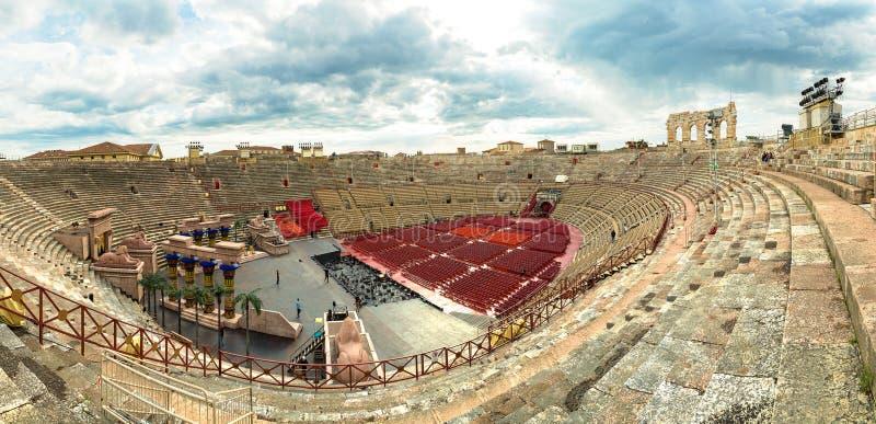 The Verona Arena royalty free stock image