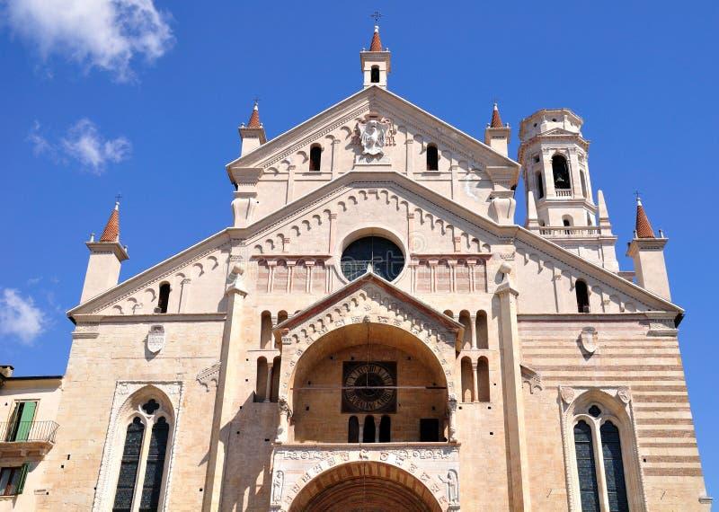 Verona Cathedral royalty-vrije stock afbeeldingen