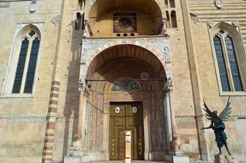 Verona Cathedral, Verona Italy imagenes de archivo