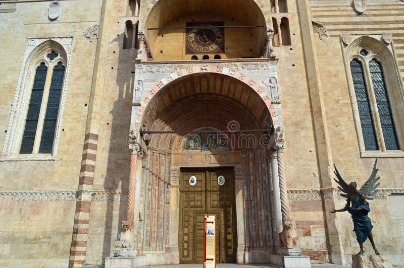 Verona Cathedral, Verona Italy imagens de stock