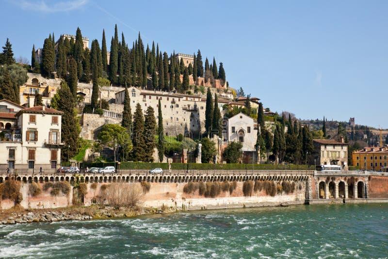 Download Verona Cityscape Stock Photo - Image: 25126900