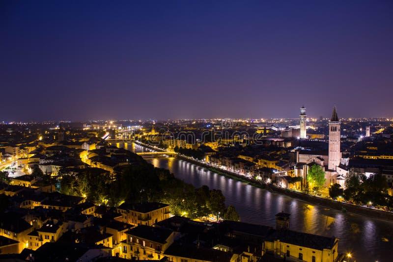Verona by Night royalty free stock photo