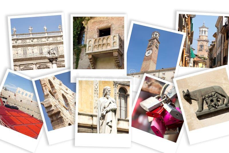 Verona punkty zwrotni zdjęcie royalty free
