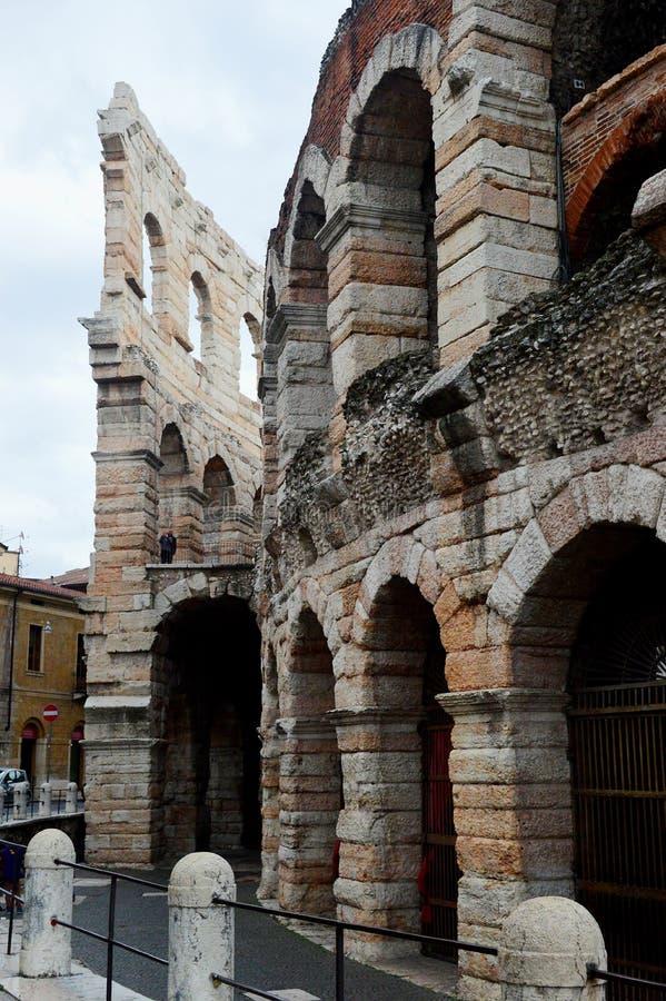 Veronas Arena - Roman Amphitheatre lizenzfreie stockfotografie
