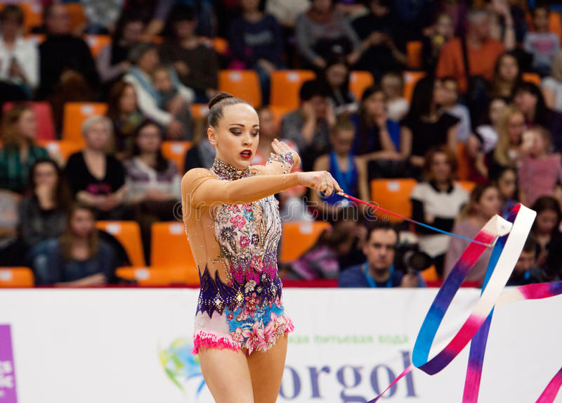 Veronika Pronchenko, Lituânia imagem de stock