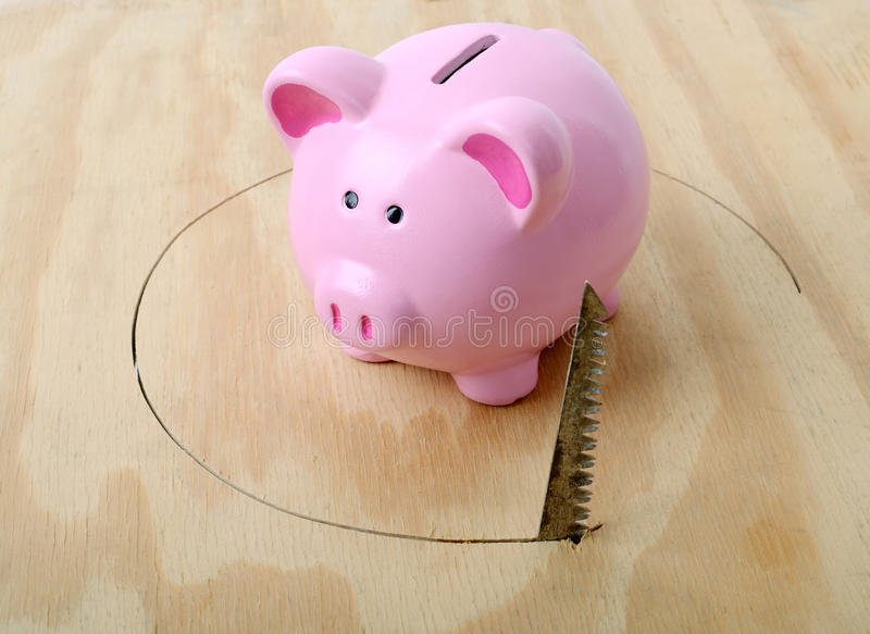 Download Verontruste Financiën stock afbeelding. Afbeelding bestaande uit nest - 29504311
