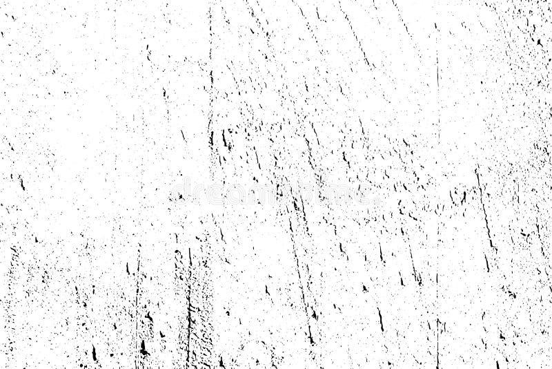 Verontruste halftone grunge zwart-witte vectortextuur - textuur van oude muurachtergrond voor verwezenlijkings abstracte wijnoogs stock illustratie