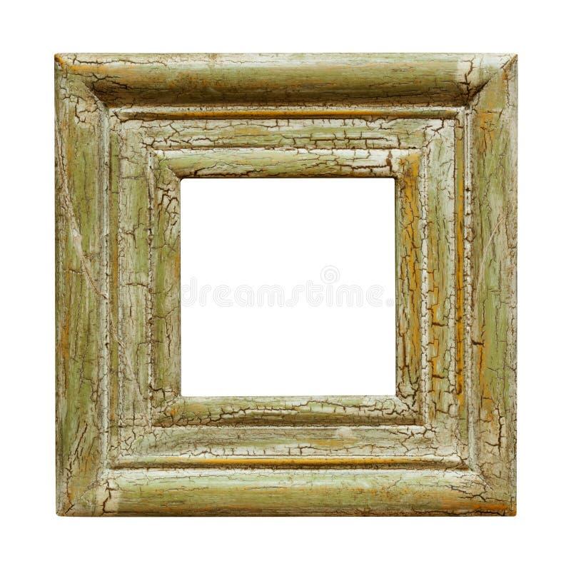 Verontruste Vierkante Omlijsting stock fotografie
