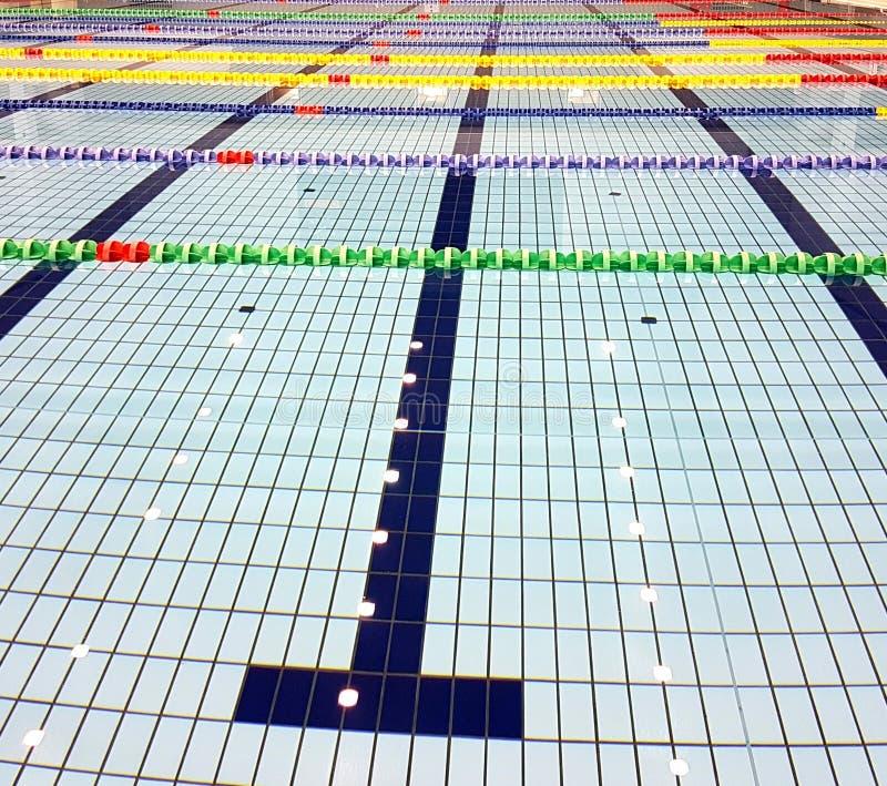 Verordening Zwembad, Chiba, Japan stock afbeelding
