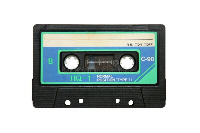 Verouderde bandcassette stock afbeeldingen