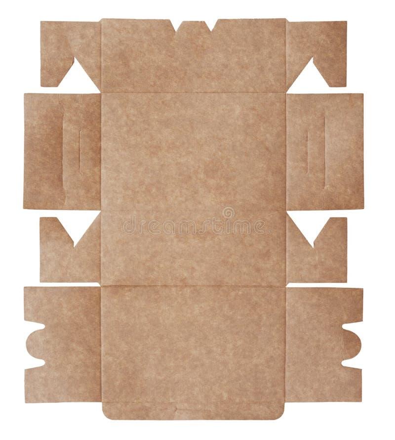 Verpacken der Tortenschachtel stock abbildung