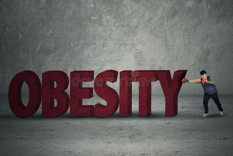 Verpacken für verlieren Gewicht stockbilder