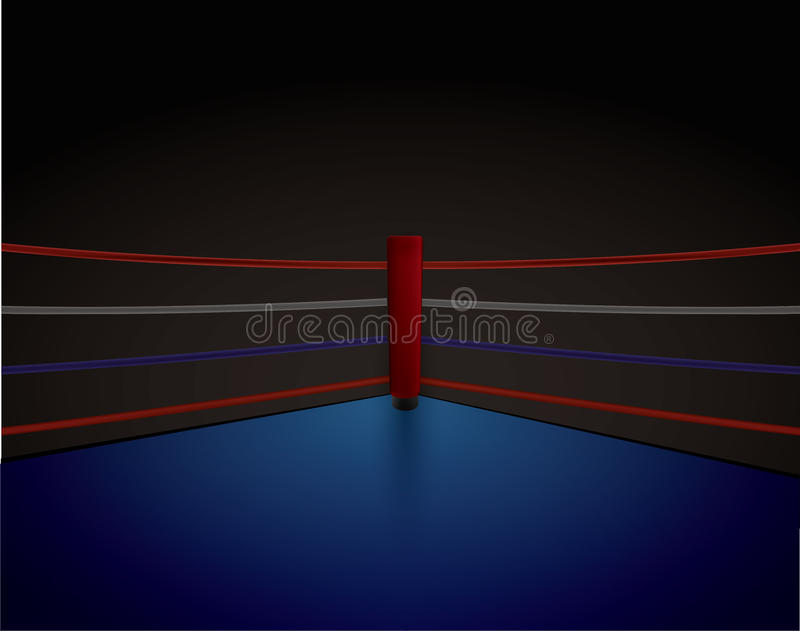 Verpacken Ring Red Corner, lizenzfreie abbildung