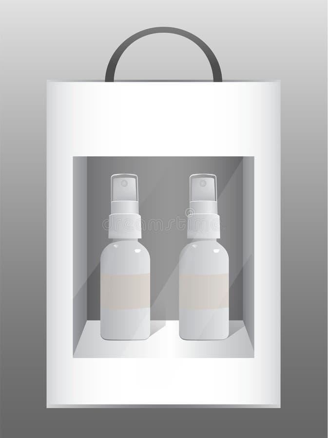 Verpackungs-Vektor lizenzfreie abbildung