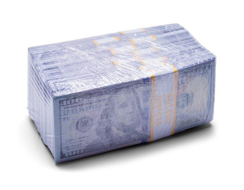 Verpakt Druggeld stock afbeeldingen