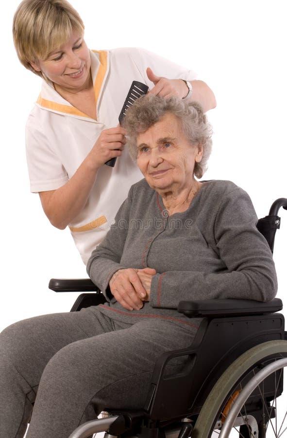 Verpleeghuis stock fotografie
