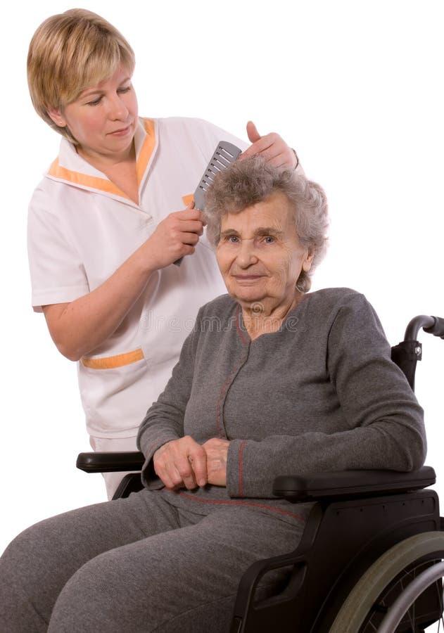 Verpleeghuis royalty-vrije stock afbeelding