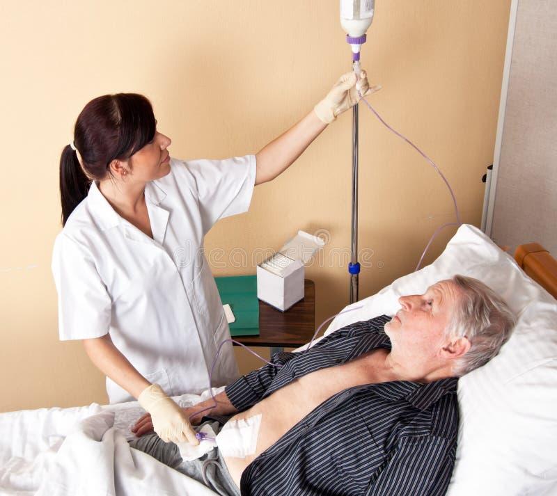 Verpleegster royalty-vrije stock foto's