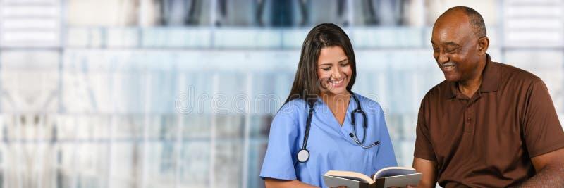 Verpleegster in het ziekenhuis royalty-vrije stock fotografie