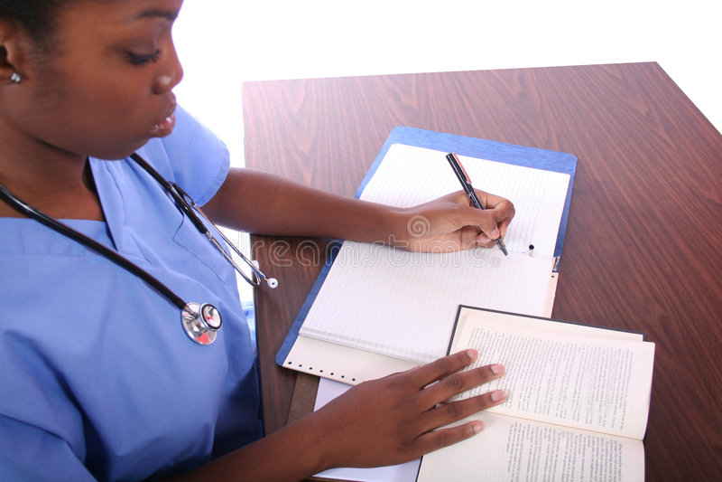 Verpleegster of Student royalty-vrije stock foto