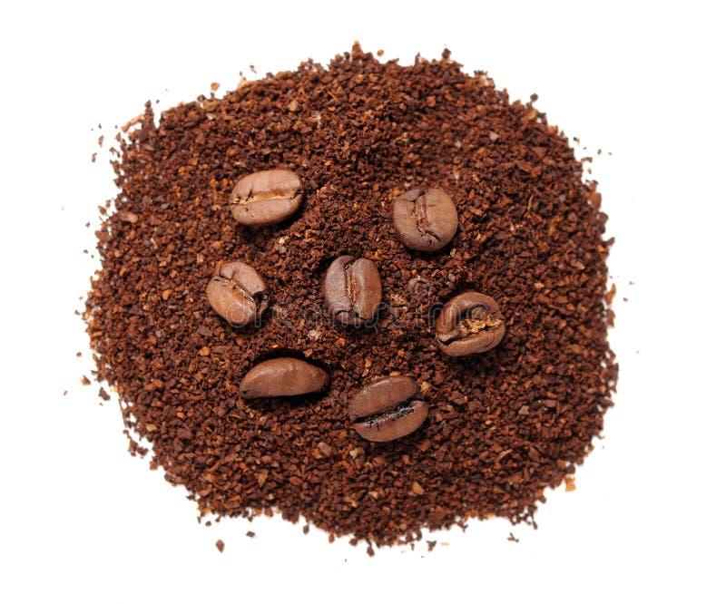 Download Verpletterde koffiebonen stock afbeelding. Afbeelding bestaande uit geroosterd - 29511195