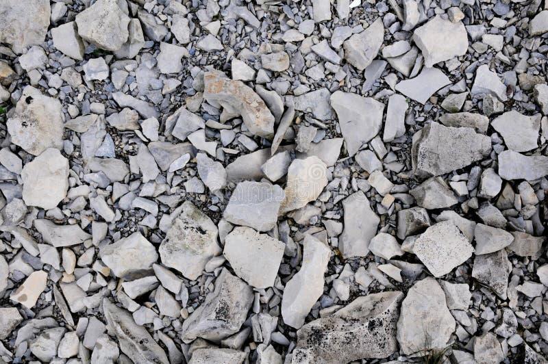 Verpletterde Rotsen op Gros Morne Mountain stock afbeeldingen