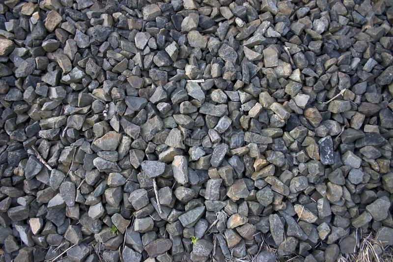 Verpletterde Stenen stock foto's