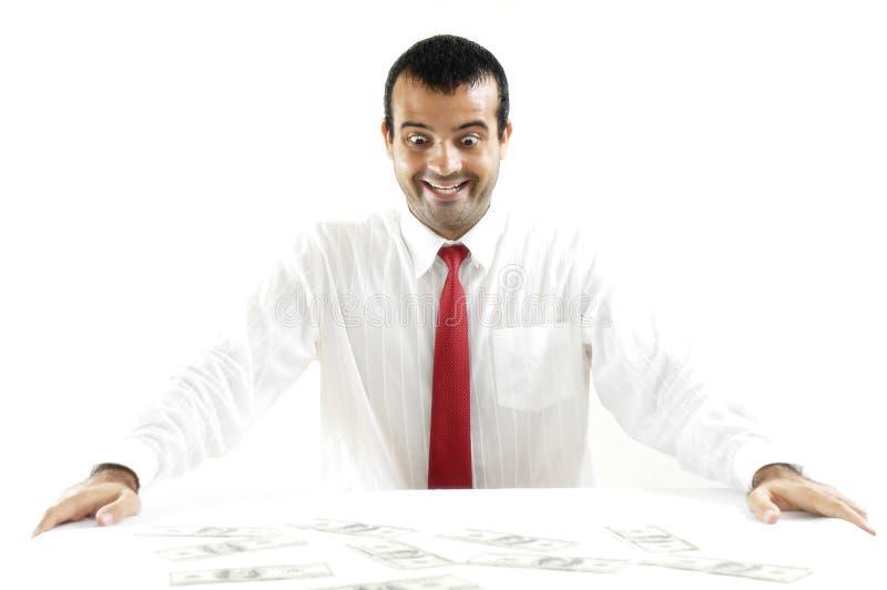 Verrückt für Geld stockfotos