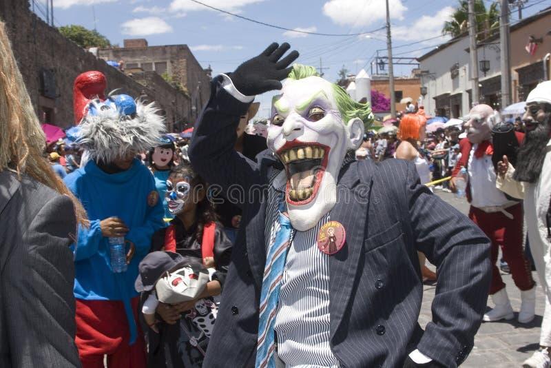 Verrückte Parade lizenzfreies stockfoto