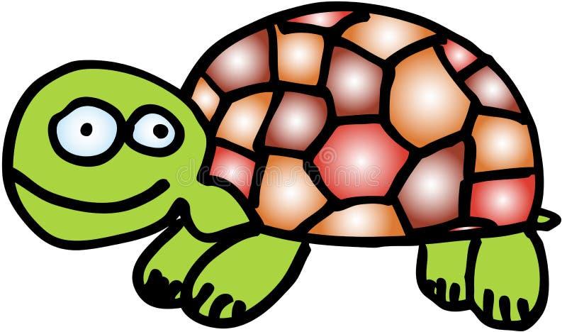 Verrückte Schildkröte vektor abbildung