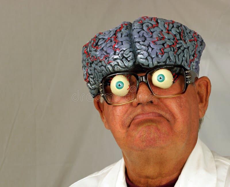 Verrückter Wissenschaftler lizenzfreie stockfotografie