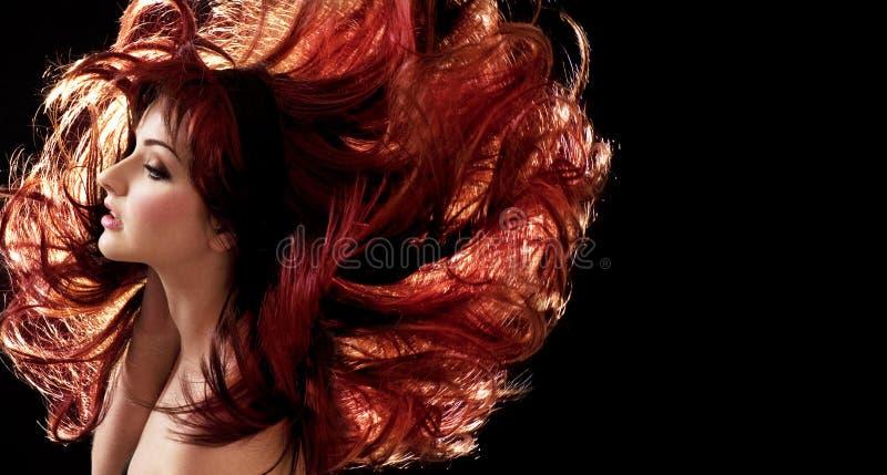Verrücktes Haar stockbild