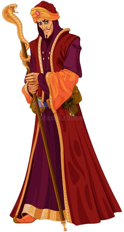 Verraderlijke Vizier stock illustratie