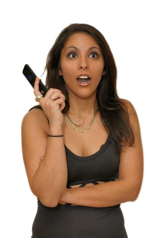 Download Verrassing - Een Zeer Verrast Meisje Stock Afbeelding - Afbeelding bestaande uit gezicht, besnoeiing: 29509905