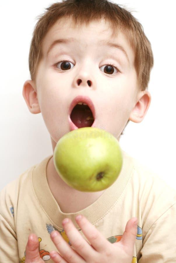 Verrassing van het kind stock afbeelding