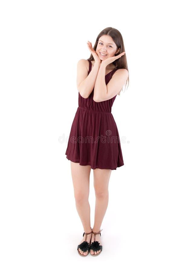 Verrast Meisje stock foto