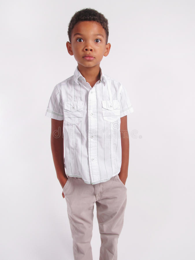 Verraste jongen royalty-vrije stock foto