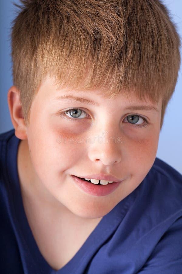 Verraste jongen royalty-vrije stock fotografie